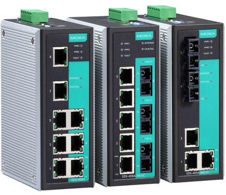 MOXA EDS-405A / EDS-408A Series