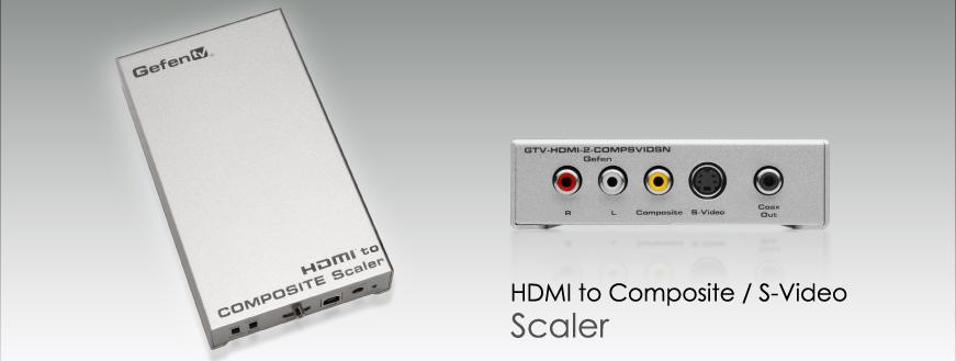 Gefen GTV-HDMI-2-COMPSVIDSN