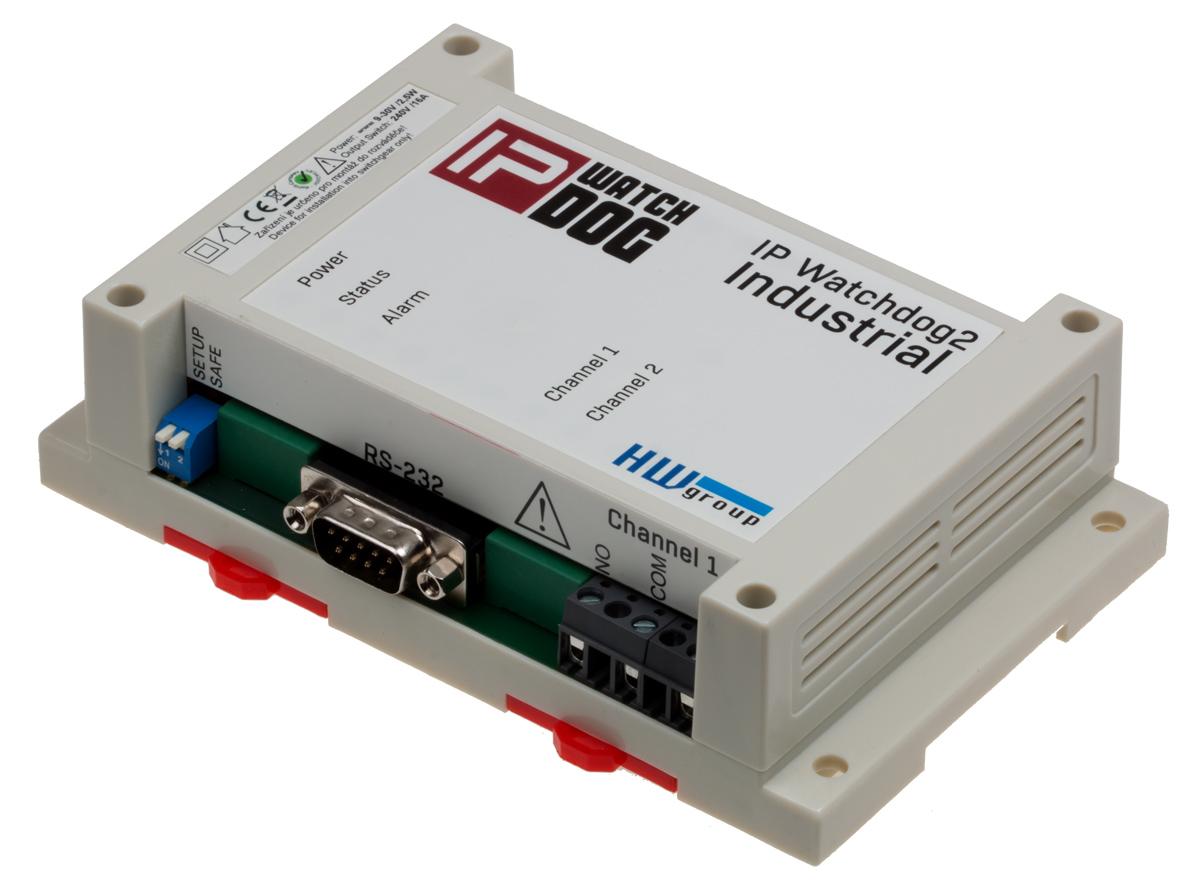 HW group IP WatchDog2 Industrial: Ping restarter