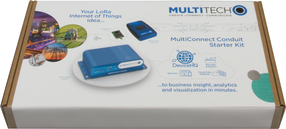 Multi-Tech MultiConnect Conduit LoRa Starter Kit