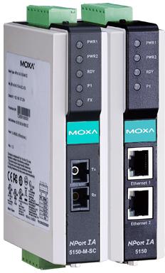 MOXA NPort IA5150 / 5250 Series