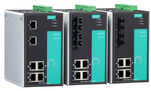 MOXA EDS-P506A-4PoE Series