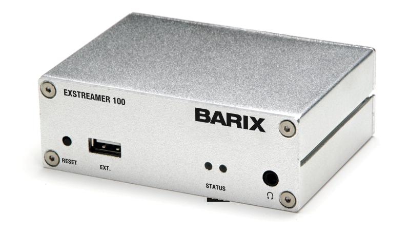Barix Exstreamer 100 | 105 | 110 | 120