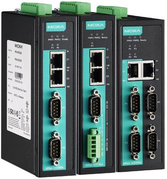 MOXA NPort IA5150A / IA5250A / IA5450A Series