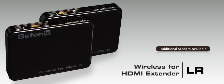 Gefen GTV-WHD-1080P-LR-BLK