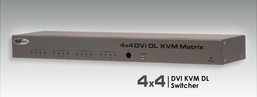 Gefen EXT-DVIKVM-444DL