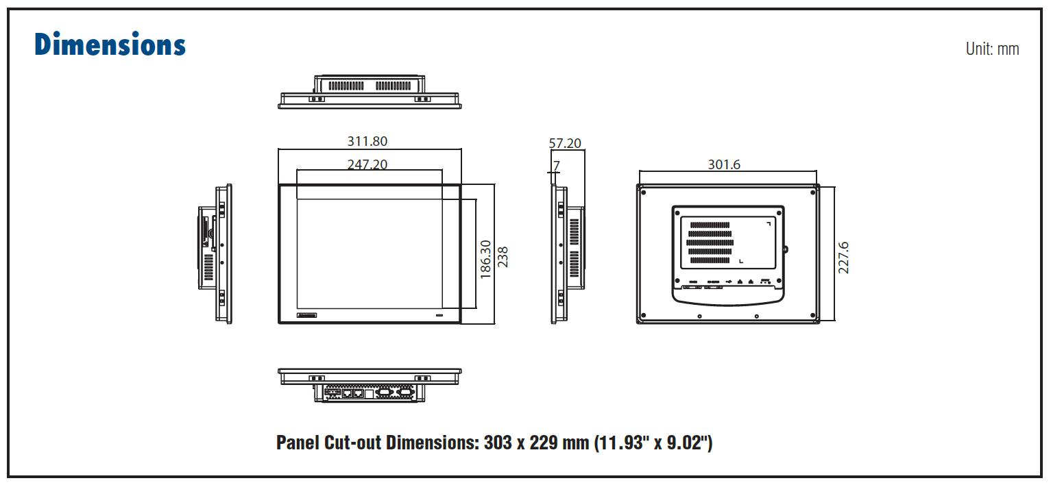Advantech TPC-1251T