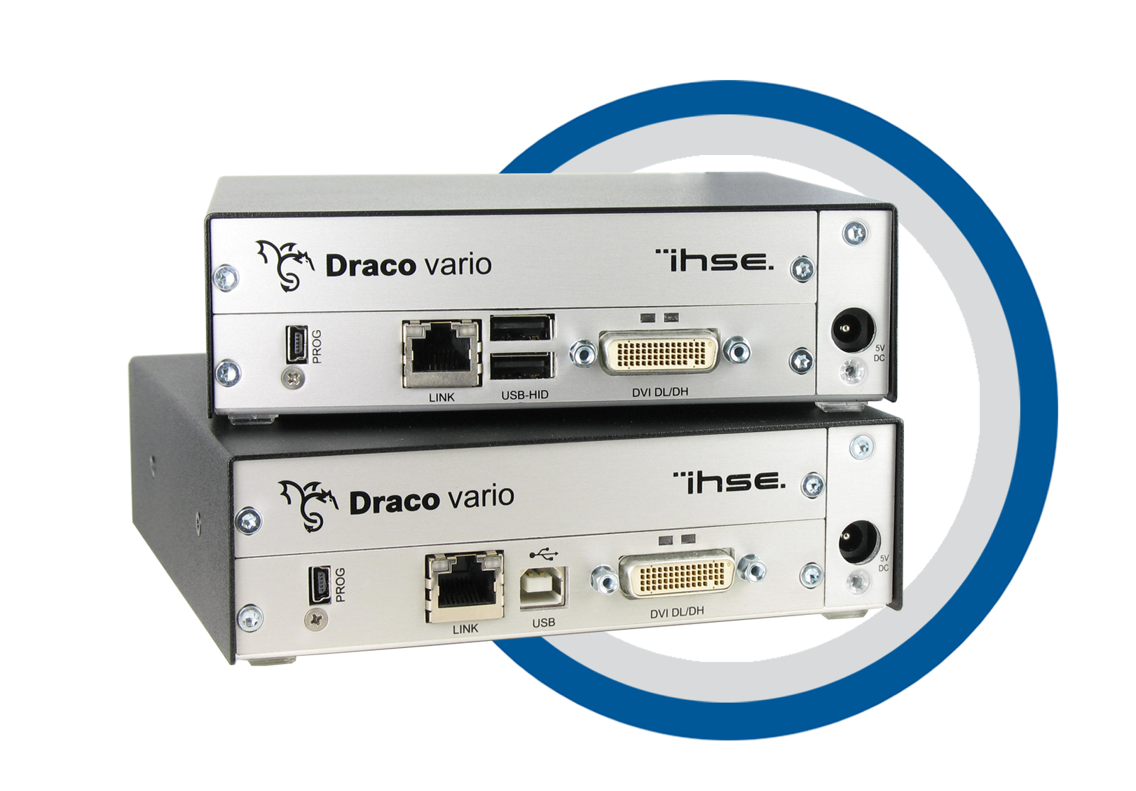 ihse Draco vario Dual-Head / Dual Link