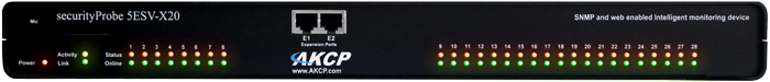 AKCP securityProbe 5ESV-X20