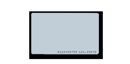 AKCP PVC Card EM