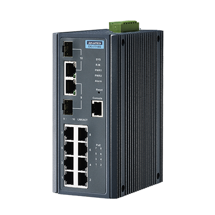 Advantech EKI-7710G-2CP & Advantech EKI-7710G-2CPI