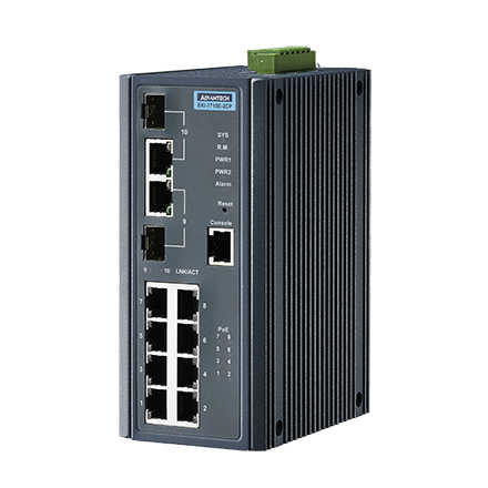 Advantech EKI-7710E-2CP & Advantech EKI-7710E-2CPI