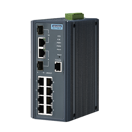 Advantech EKI-7710G-2C & Advantech EKI-7710G-2CI