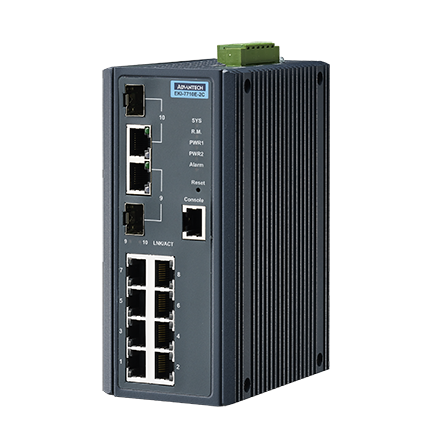 Advantech EKI-7710E-2C & Advantech EKI-7710E-2CI