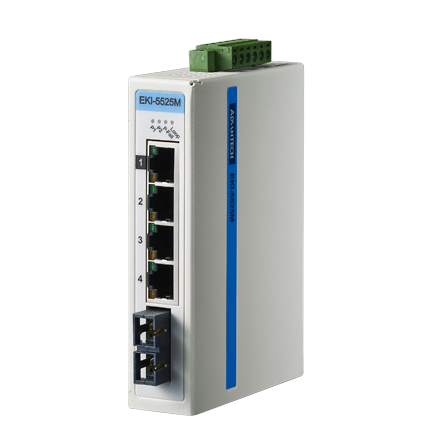 Advantech EKI-5525S & Advantech EKI-5525M