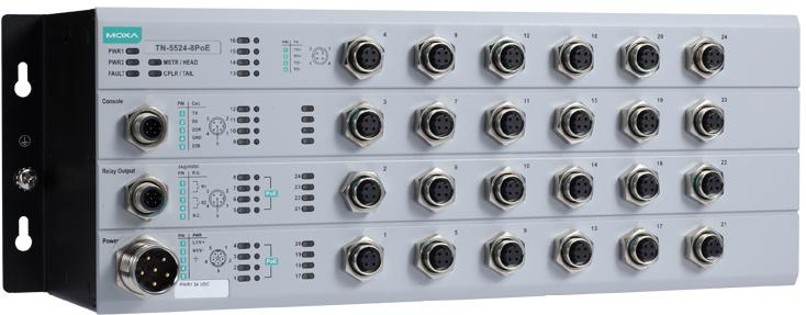 MOXA TN-5524-8PoE Series