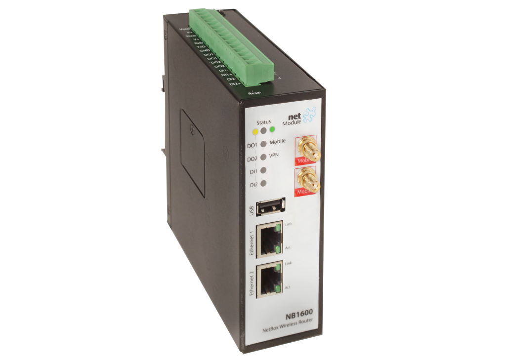 NetModule NB1600 LTE 450 MHz Router