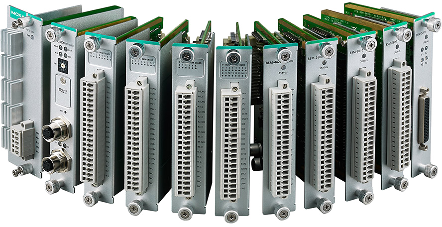 MOXA ioPAC 8600 Series Expansion Modules