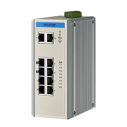 Advantech EKI-5729P & Advantech EKI-5729PI