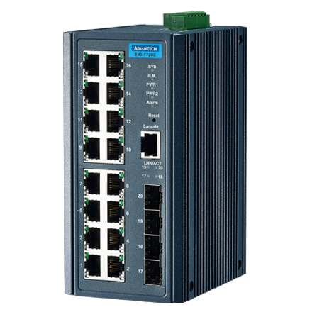 Advantech EKI-7720E-4F & Advantech EKI-7720E-4FI