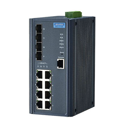 Advantech EKI-7712E-4F & Advantech EKI-7712E-4FI