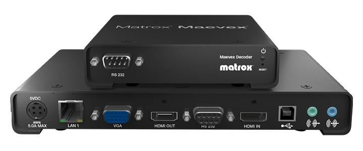Matrox Maevex 5100 Series Encoder & Decoder
