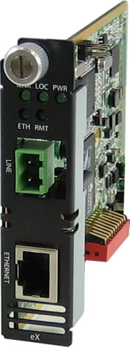 Perle eX-CM110 Managed Fast Ethernet Extender Modules