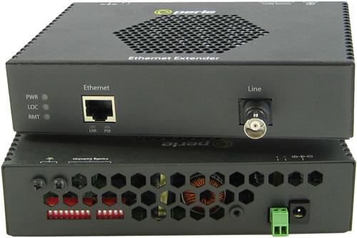 Perle eXP-S1110 PoE Gigabit Ethernet Extenders