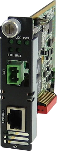 Perle eX-CM1110 Managed Gigabit Ethernet Extender Modules