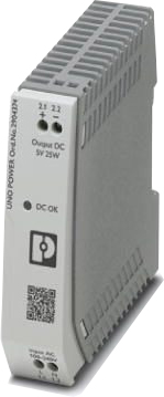 Perle UNO-PS/1AC/5DC/25W Single-Phase DIN Rail Power Supply
