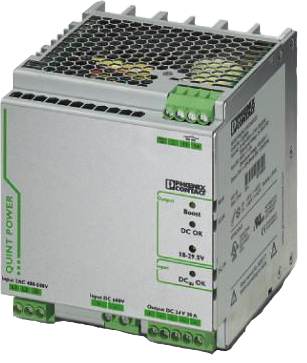 Perle QUINT-PS/2AC/1DC/24DC/20 DIN Rail Power Supply