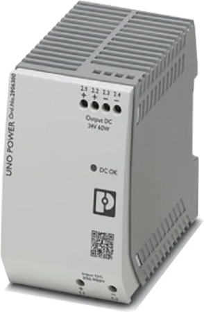 Perle UNO-PS/350-900DC/24DC/60W DIN Rail Power Supply
